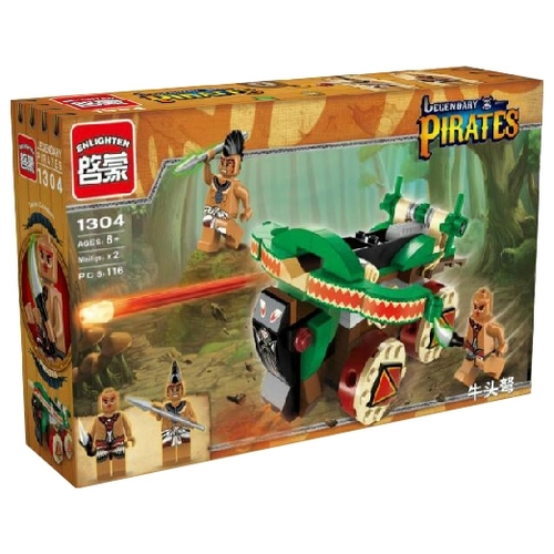 Конструктор Enlighten Brick Legendary Pirates 1304 Конструкторы