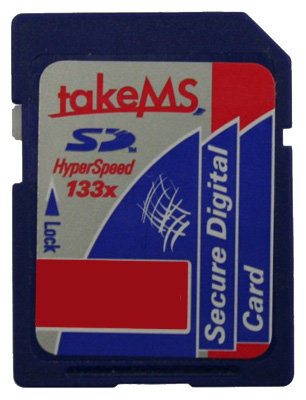Карта памяти TakeMS SD-Card HyperSpeed 133x