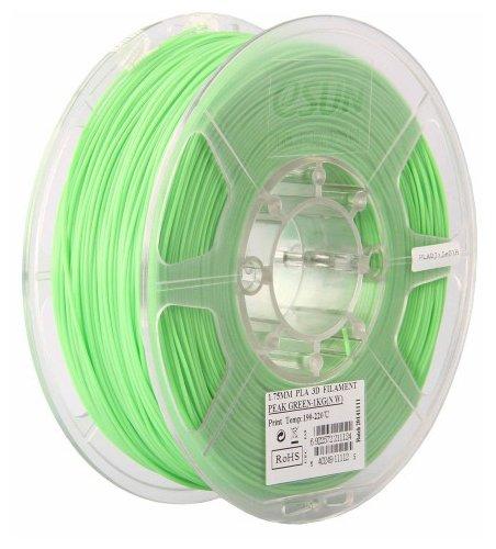 PLA пруток ESUN 1.75 мм салатовый (peak green)