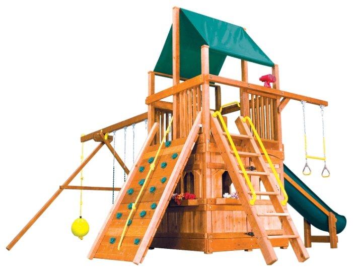 Спортивно-игровой комплекс Rainbow Play Systems Rainbow Clubhouse II with Playhouse