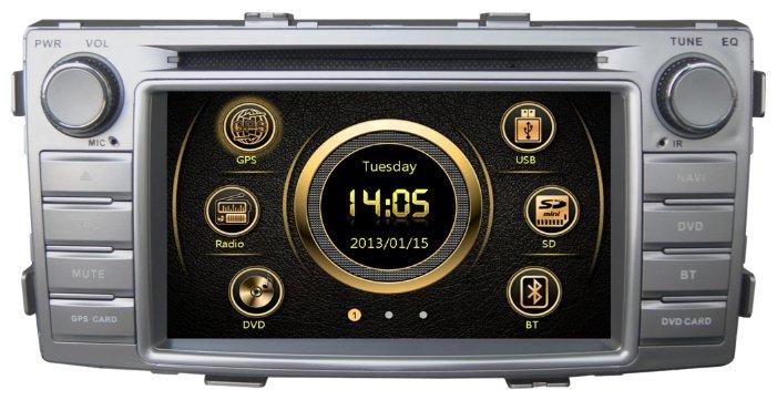 Автомагнитола RedPower Toyota Hilux 12071