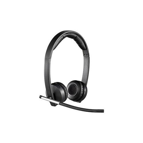 Компьютерная гарнитура Logitech Wireless Headset Dual H820e черный цена 2017