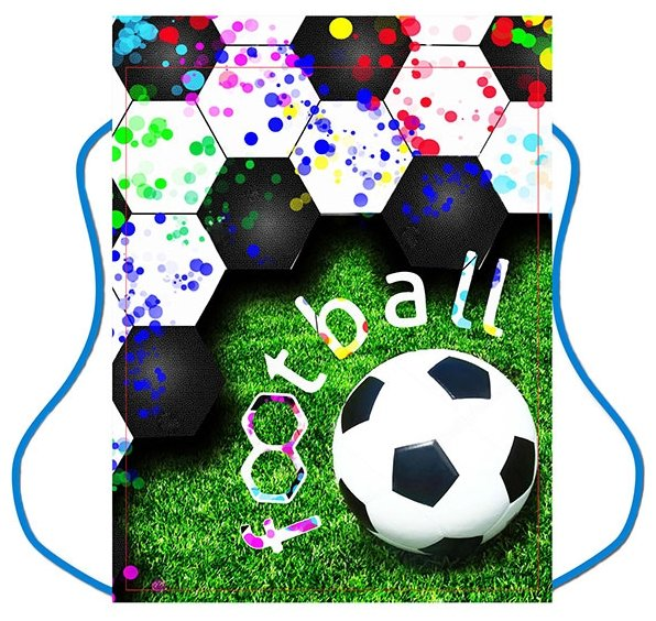 CENTRUM Мешок для обуви Футбол 34х42 см (89157)