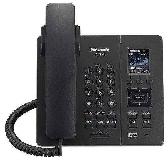 VoIP-телефон Panasonic KX-TPA65 черный