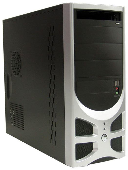Компьютерный корпус Foxconn TLA-570A 300W Black/silver