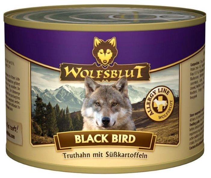 Корм для собак Wolfsblut Консервы Black Bird (0.2 кг) 1 шт.