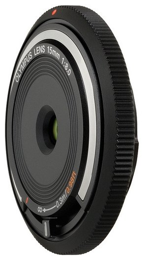 Объектив Olympus 15mm f/8.0 Body Cap Lens