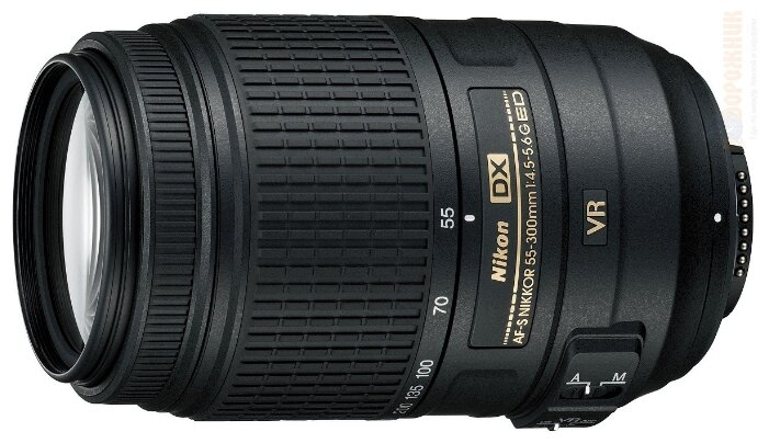 Nikon 55-300mm f/4.5-5.6G ED DX VR AF-S Nikkor