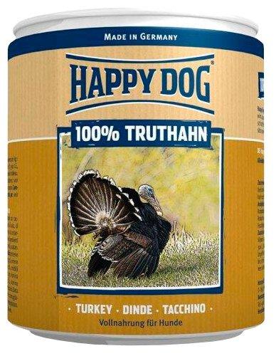 Корм для собак Happy Dog Фермерский продукт 100% Мясо Индейка