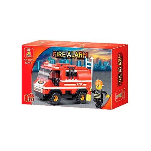 Купить Конструктор SLUBAN Пожарные спасатели M38-B0276, Конструкторы
