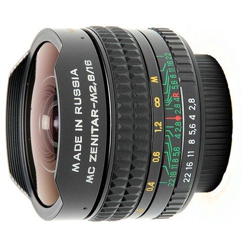 Фото - Объектив Зенит Зенитар-N 16mm f/2.8 объектив sony 16mm f 2 8 fisheye sal 16f28