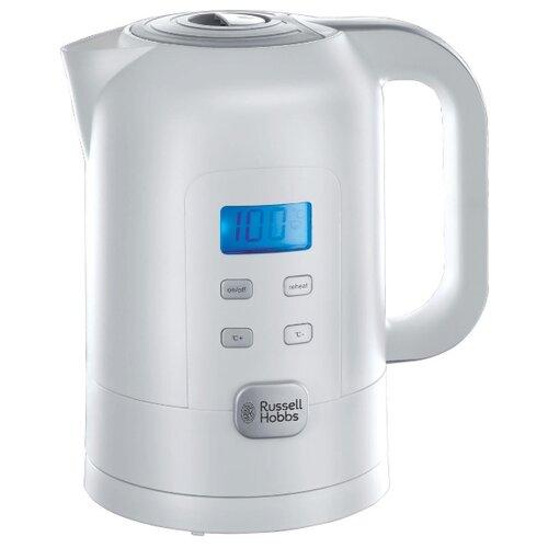Чайник Russell Hobbs 21150, белый чайник russell hobbs 24991 silver