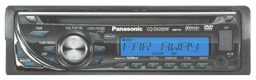 Panasonic CQ-DX200W