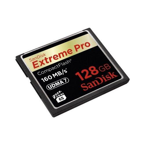 Фото - Карта памяти SanDisk Extreme Pro CompactFlash 160MB/s 128GB sandisk cf extreme pro 128gb