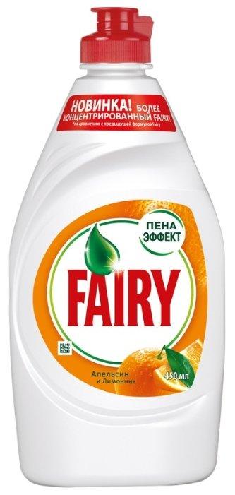 Fairy Средство для мытья посуды Апельсин и лимонник