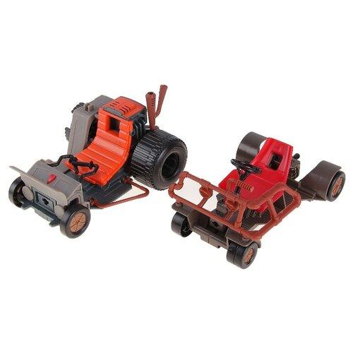 Купить Игровой набор Playmates TOYS TMNT Патрульные Багги (Раф и Микки) 94034, Игровые наборы и фигурки