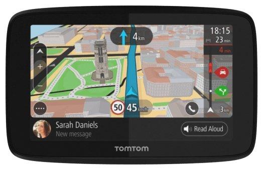 TomTom Навигатор с радар-детектором TomTom GO 520