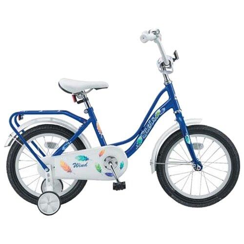 Детский велосипед STELS Wind 14 Z010 (2018) синий (требует финальной сборки)