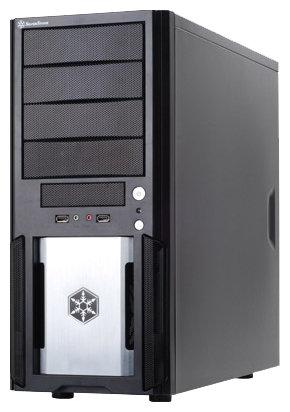 SilverStone Компьютерный корпус SilverStone PS02B-W Black