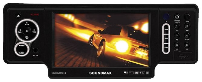 Автомагнитола SoundMAX SM-CMD3014