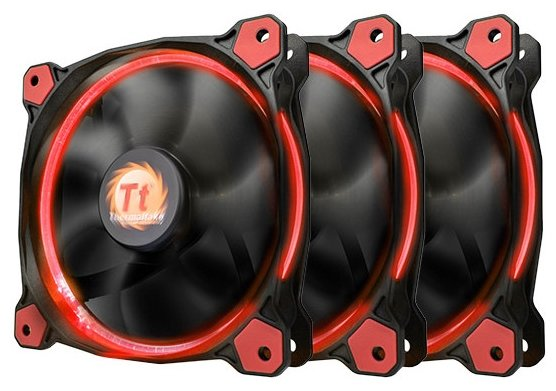 Thermaltake Riing 12 LED Red (3 fans pack)