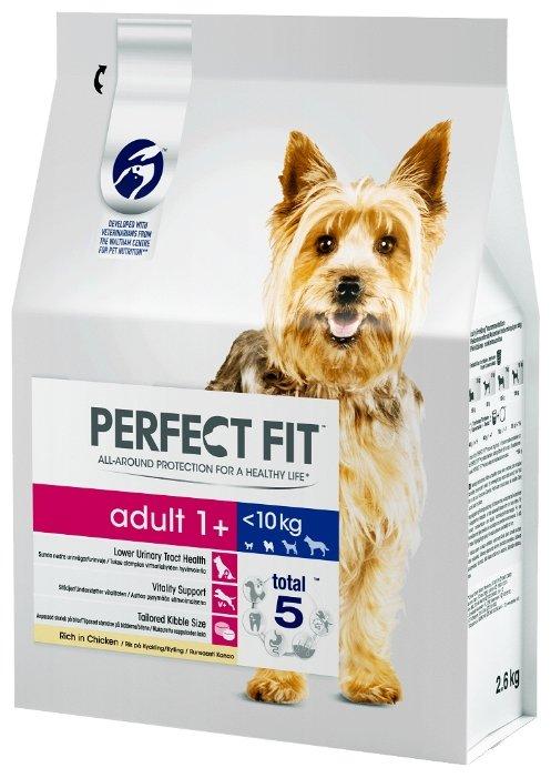 Perfect Fit (2.6 кг) Сухой корм для собак мелких и миниатюрных пород с курицей