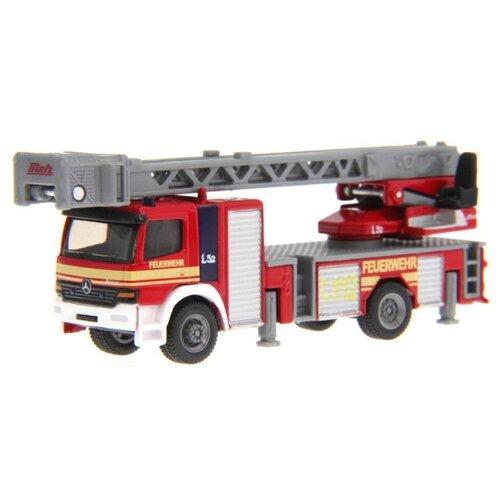Пожарный автомобиль Siku с лестницей (1841) 1:87 15.6 см красный