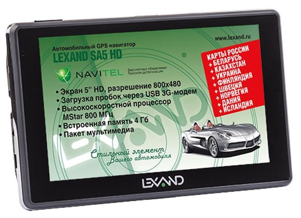 LEXAND Навигатор LEXAND SA5 HD