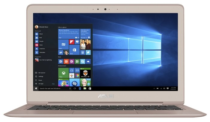 Ноутбук ASUS ZenBook UX330UA (Intel Core i7 8550U 1800 MHz/13.3
