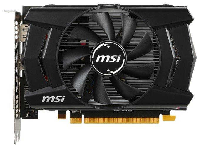 MSI Radeon R7 360 1100Mhz PCI-E 3.0 2048Mb 6500Mhz 128 bit DVI HDMI HDCP