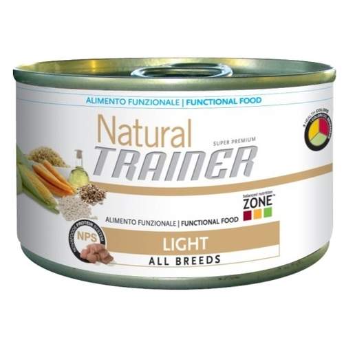 Корм для собак TRAINER (0.15 кг) 24 шт. Natural Adult Light All size canned