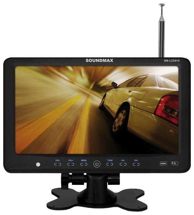 Автомобильный телевизор SoundMAX SM-LCD915