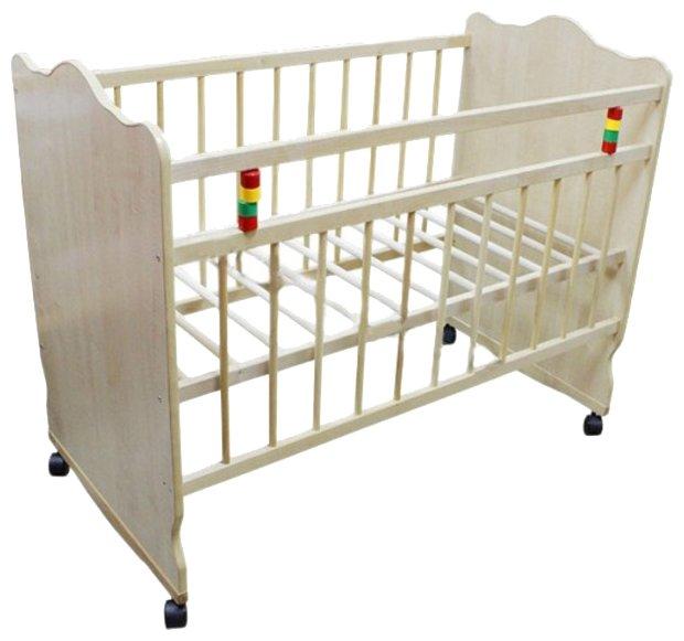 Кроватка Промтекс Колибри Классик 3 (качалка), на полозьях