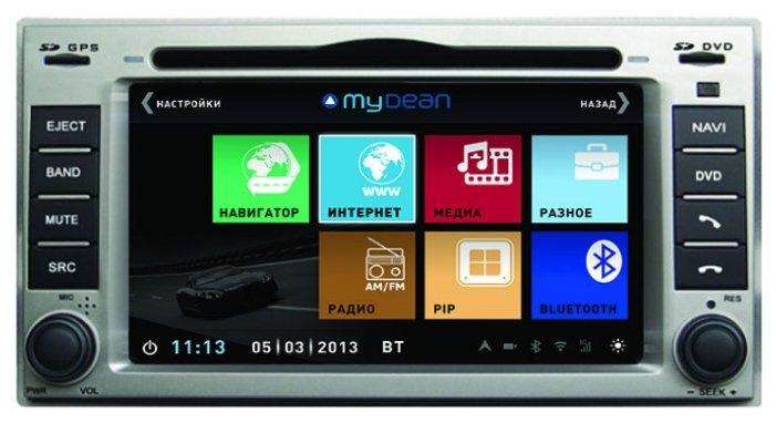 Автомагнитола MyDean 1008