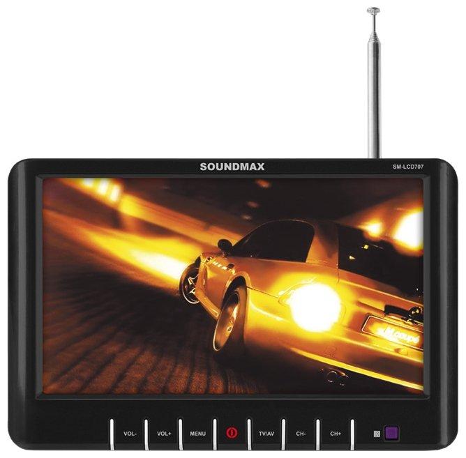 Автомобильный телевизор SoundMAX SM-LCD707