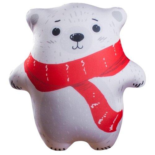 Игрушка-антистресс Мнушки Мишка-топтыжка белый 28 см игрушка антистресс good mood мишка йо йо а0961 orange