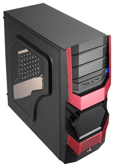 AeroCool Компьютерный корпус AeroCool Cyclops Advance Red