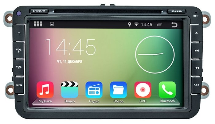 Smarty Volkswagen EOS 2006-2011 Android