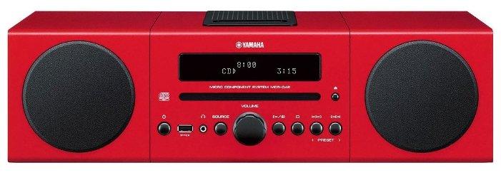 Музыкальный центр YAMAHA MCR-B142 Red