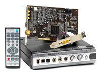 Внутренняя звуковая карта с дополнительным блоком Creative Audigy 2 ZS Platinum Pro