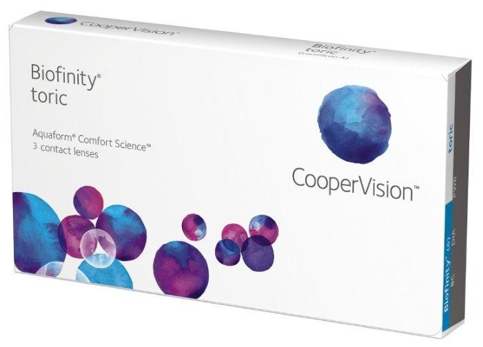 CooperVision Biofinity Toric (3 линзы)