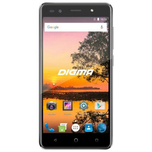 Смартфон DIGMA VOX S513 4G черный смартфон digma vox e502 4g 16gb gray