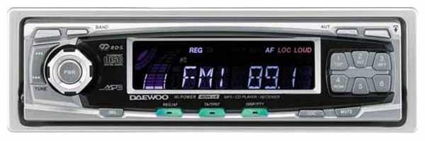 Автомагнитола Daewoo AGC-5040