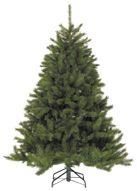 Зеленая елка со светодиодными иголками и звездой LED 60 см