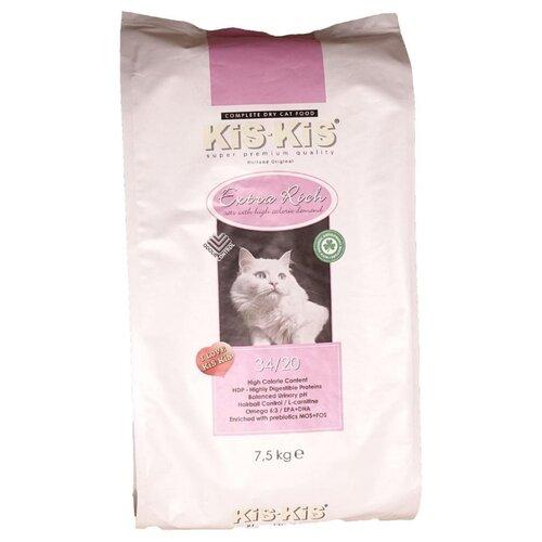 Сухой корм для кошек Kis-kis с курицей 7.5 кг