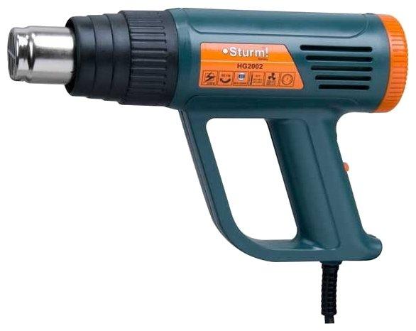 Строительный фен Sturm! HG2002 Case 2000 Вт