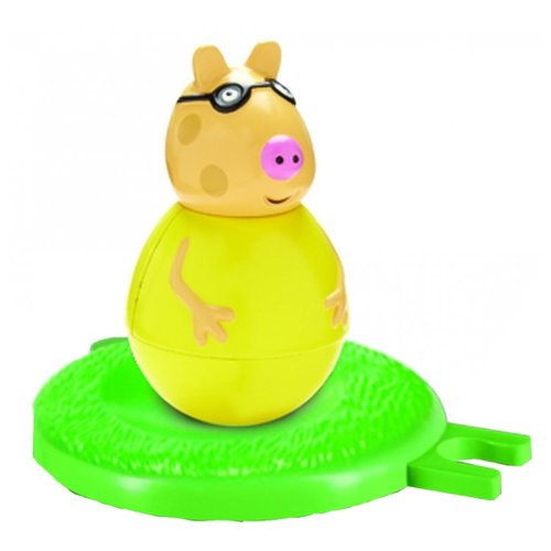 Неваляшка РОСМЭН Пони Педро (28805) 8 см желтый/зеленый, Неваляшки  - купить со скидкой