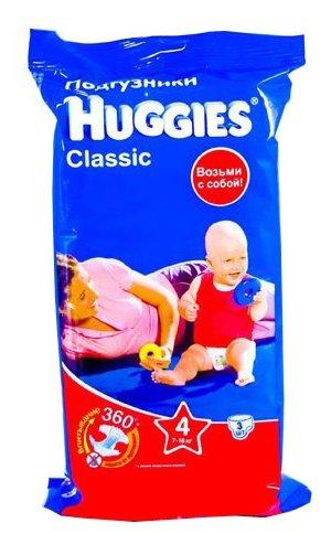 Huggies Classic 4 (7-18 кг)