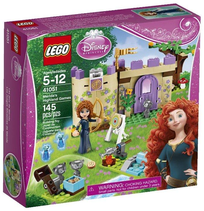 Конструктор LEGO Disney Princess 41051 Северо-Шотландские игры Мериды