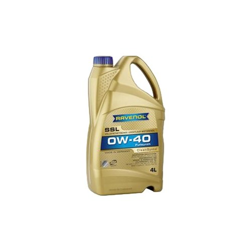 Синтетическое моторное масло Ravenol Super Synthetik Öl SSL SAE 0W-40 4 л моторное масло ravenol super synthetik öl ssl sae 0w 40 5 л